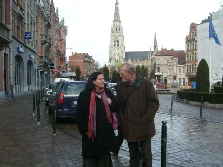 Teresa Kapela i ks. Jan Class - Bruksela