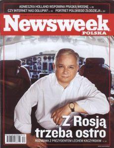 Fot. Cwik Newsweek_Okladka L.kaczynski