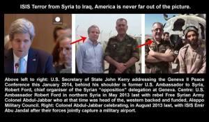 ISIS Terror z Syrii do Iraku, Ameryka nigdy nie jest się w kadrze