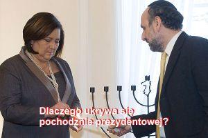 komorowska_schudrich_chanuka_600