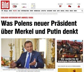 z18629626Q,Niemiecki--Bild--przeprowadzil-wywiad-z-prezydente