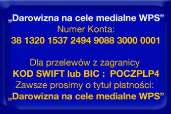 Szanowni Przyjaciele portalu WPS