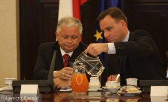z17666714Q,Prezydent-Lech-Kaczynski-i-jego-prawnik-Andrzej-Du