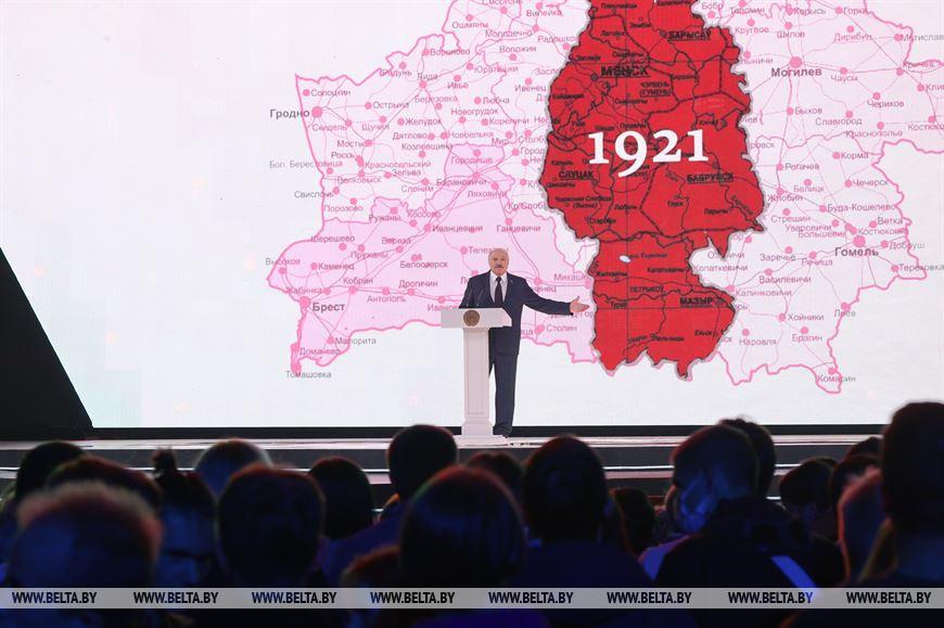 Białoruś_międzywojnie_mapa_Łukaszenko